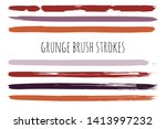 paint lines grunge collection....
