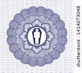 blue passport money style...   Shutterstock .eps vector #1414073048