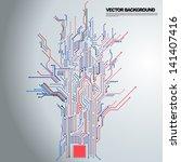 abstract background vector | Shutterstock .eps vector #141407416