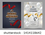 grand opening invitation flyer... | Shutterstock .eps vector #1414118642