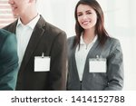 group of business people with... | Shutterstock . vector #1414152788