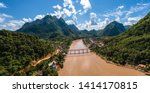 Nong Khiaw Panoramic View Over...