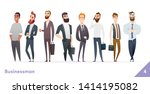 businessman or people character ... | Shutterstock .eps vector #1414195082