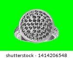 wedding ring on green...   Shutterstock . vector #1414206548