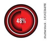 circle percentage diagrams 48 ...