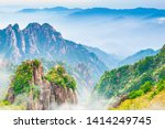Landscape Of Huangshan  Yellow...