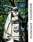 high dynamic range hdr statue... | Shutterstock . vector #1414283348