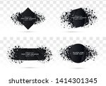 geometric banners.abstract... | Shutterstock .eps vector #1414301345