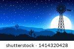 State Of Nevada  Mojave Desert...