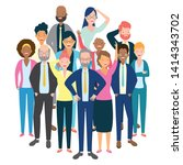 people group characters...   Shutterstock .eps vector #1414343702