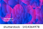 abstract colorful love...   Shutterstock .eps vector #1414364978