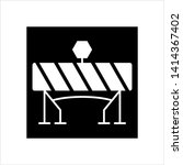 construction barrier icon ... | Shutterstock .eps vector #1414367402
