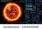 ui futuristic brilliant sun...