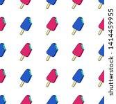 vector trendy seamless pattern... | Shutterstock .eps vector #1414459955