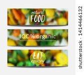 vector banners design template... | Shutterstock .eps vector #1414466132