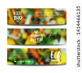vector banners design template... | Shutterstock .eps vector #1414466135