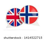 flags of uk and norway inside...   Shutterstock . vector #1414522715