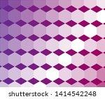 semi transparent white hexagon... | Shutterstock .eps vector #1414542248