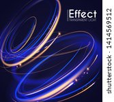 abstract swirl light motiom...   Shutterstock .eps vector #1414569512