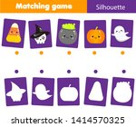shadow matching game. match... | Shutterstock .eps vector #1414570325