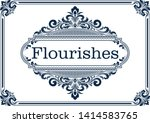 decorative frame with beautiful ...   Shutterstock .eps vector #1414583765
