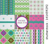 vintage collection | Shutterstock .eps vector #141459292