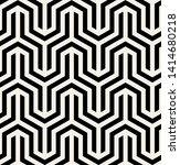 vector seamless pattern. modern ... | Shutterstock .eps vector #1414680218