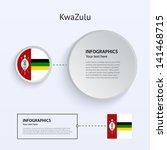 kwazulu country set of banners...