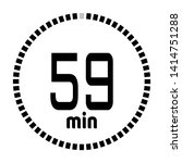 the 59 minutes countdown timer...