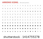 set of arrow icons. arrows for...