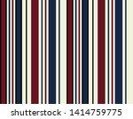 retro stripe seamless pattern... | Shutterstock .eps vector #1414759775