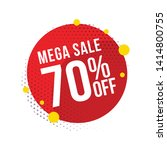 sale and special offer tag ... | Shutterstock .eps vector #1414800755