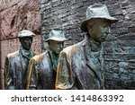 statues depicting the great... | Shutterstock . vector #1414863392