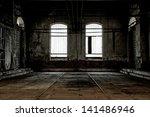 abandoned industrial interior... | Shutterstock . vector #141486946