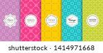 vector geometric seamless... | Shutterstock .eps vector #1414971668