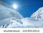 Climber Reaches The Summit Of...