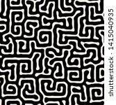 vector seamless pattern. modern ... | Shutterstock .eps vector #1415040935