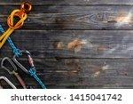 climbing gear  equipment... | Shutterstock . vector #1415041742