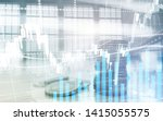 digital stock market.... | Shutterstock . vector #1415055575