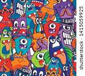 abstract seamless comics... | Shutterstock .eps vector #1415059925