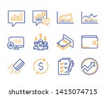 trade infochart  salary... | Shutterstock .eps vector #1415074715