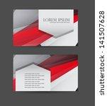 business card design   Shutterstock .eps vector #141507628