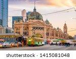 Melbourne Flinders Street Train ...