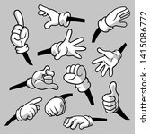 cartoon hands with gloves icon... | Shutterstock .eps vector #1415086772