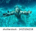 Small photo of Christ of the Abyss Statue Key Largo