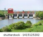 """iwabuchi water gate"" in tokyo   Shutterstock . vector #1415125202"
