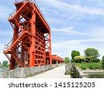 """iwabuchi water gate"" in tokyo   Shutterstock . vector #1415125205"