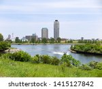 arakawa and sumida river...   Shutterstock . vector #1415127842