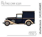 color vector icon american...   Shutterstock .eps vector #1415140685