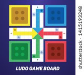 Ludo Game Board For Mobile Or...